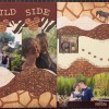 Scrapbooking Layout – The Wild Side