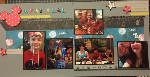 scrapbooking layout meal deal